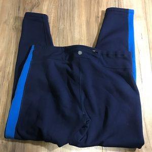 Pants - Athleta fleece lined leggings